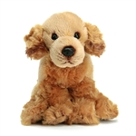 Small Sitting Stuffed Golden Retriever by Nat and Jules