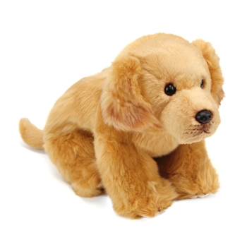 Lifelike Golden Retriever Stuffed Animal by Nat and Jules