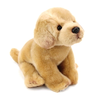 Lifelike Stuffed Yellow Lab Puppy by Nat and Jules