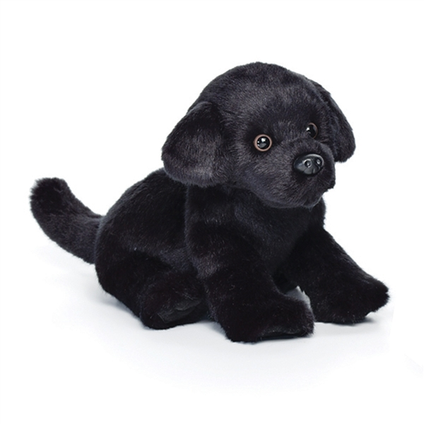 Lifelike Stuffed Black Lab Puppy Nat Jules Stuffed Safari