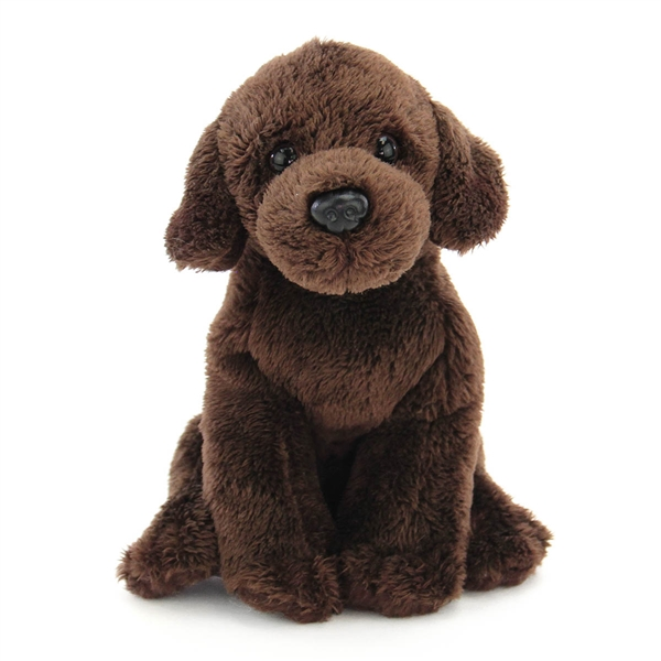Small Sitting Stuffed Chocolate Lab Nat Jules Stuffed Safari