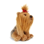 Small Sitting Stuffed Yorkshire Terrier by Nat and Jules