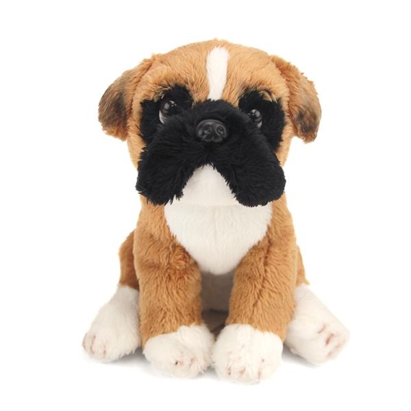 Small Sitting Stuffed Boxer Nat
