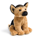Small Sitting Stuffed German Shepherd by Nat and Jules