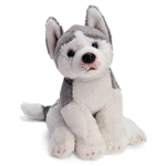 Small Sitting Stuffed Husky by Nat and Jules