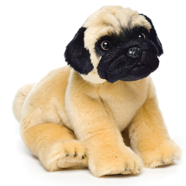 Lifelike Stuffed Pug Puppy Nat Jules Stuffed Safari