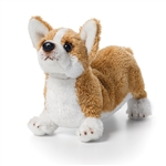 Small Stuffed Welsh Corgi by Nat and Jules