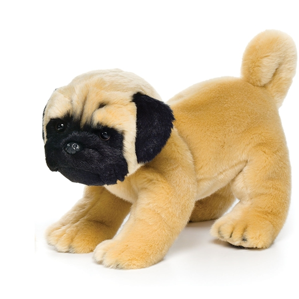 stuffed animal pug lifelike pug stuffed animal nat jules stuffed safari 9888