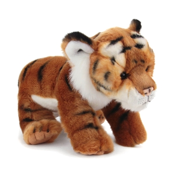 Lifelike Tiger Stuffed Animal by Nat and Jules