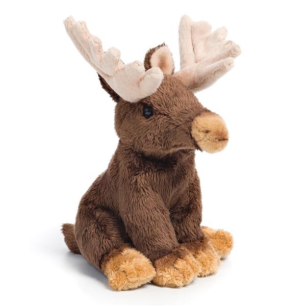 Small Sitting Stuffed Moose Nat Jules Stuffed Safari