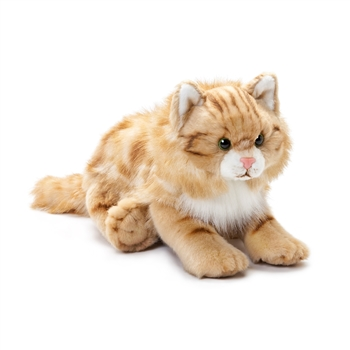 Lifelike Maine Coon Cat Stuffed Animal by Nat and Jules
