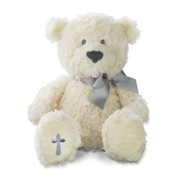 The Lords Prayer Plush Bear with Sound by Nat and Jules