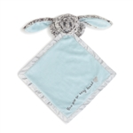 Luxurious Baby Benjamin the Bunny Plush Rattle Blanket by Demdaco