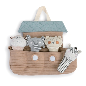 Noah's Ark Plush Squeakers Toy Set by Demdaco
