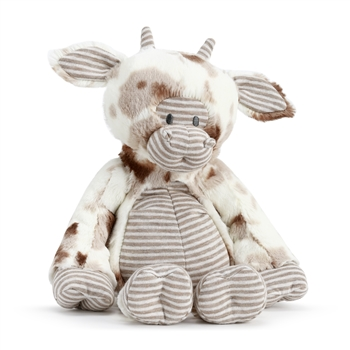 Barnyard Baby Plush Cow by Demdaco