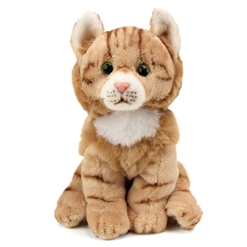 Small Sitting Stuffed Maine Coon Cat by Nat and Jules