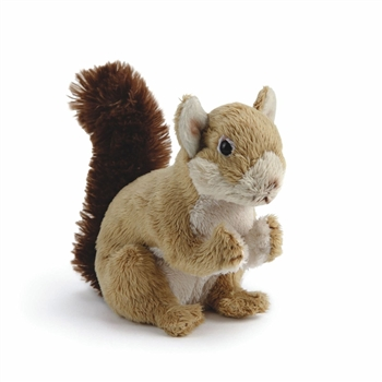 Small Sitting Stuffed Squirrel by Nat and Jules
