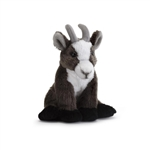 Small Sitting Stuffed Goat by Nat and Jules