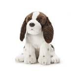 Small Sitting Stuffed Springer Spaniel by Nat and Jules