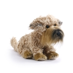 Lifelike Stuffed Wheaten Terrier Puppy by Nat and Jules