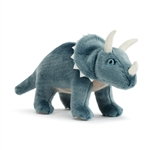 Animalcraft Spike the Plush Standing Triceratops by Demdaco