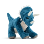 Animalcraft Spike the Plush Sitting Triceratops by Demdaco