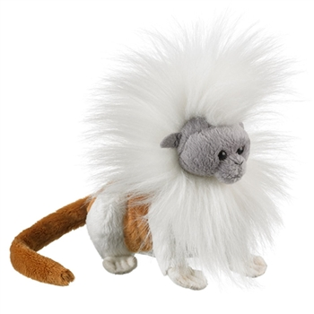Stuffed Cottontop Tamarin Conservation Critter by Wildlife Artists