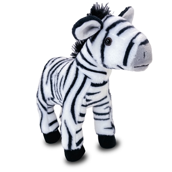 Stuffed Zebra Conservation Critter by Wildlife Artists