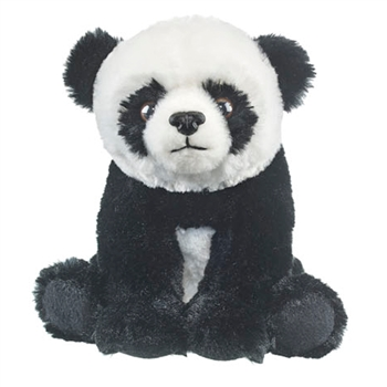 Sitting Stuffed Panda Cub Conservation Critter by Wildlife Artists