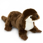 Stuffed River Otter Conservation Critter by Wildlife Artists