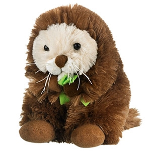 Stuffed Sea Otter Conservation Critter by Wildlife Artists