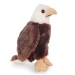 Stuffed Bald Eagle Conservation Critter by Wildlife Artists