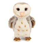 Stuffed Barn Owl Conservation Critter by Wildlife Artists