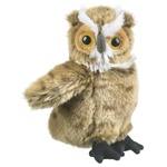 Stuffed Great Horned Owl Conservation Critter by Wildlife Artists