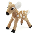 Plush White-tailed Deer Fawn Conservation Critter by Wildlife Artists