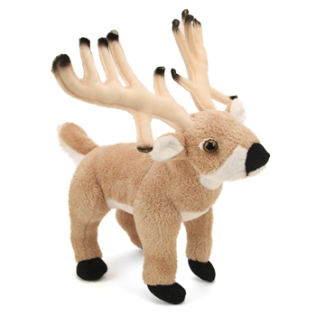 Stuffed Buck Deer Conservation Critter by Wildlife Artists