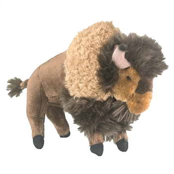 Stuffed Bison Conservation Critter by Wildlife Artists
