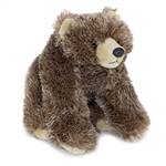 Stuffed Grizzly Bear Conservation Critter by Wildlife Artists