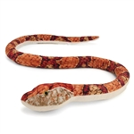 Plush Copperhead Snake 48 Inch Stuffed Animal by Wildlife Artists