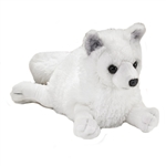 Plush Arctic Fox 17 Inch Conservation Critter by Wildlife Artists