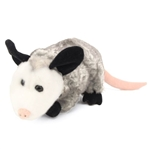 Plush Opossum 12 Inch Conservation Critter by Wildlife Artists