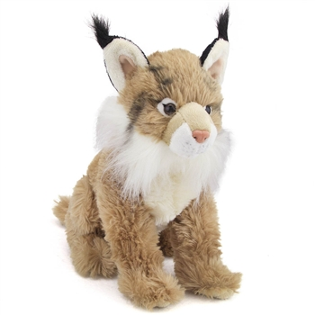 Plush Lynx 12 Inch Conservation Critter by Wildlife Artists