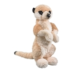 Meerkat Stuffed Animal Conservation Critter Plush by Wildlife Artists
