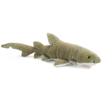 Plush Sand Tiger Shark 21 Inch Stuffed Animal by Wildlife Artists