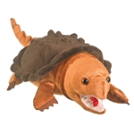 Plush Snapping Turtle 13 Inch Conservation Critter by Wildlife Artists
