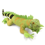 Plush Iguana 24 Inch Conservation Critter by Wildlife Artists