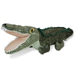 Plush Alligator 18 Inch Conservation Critter by Wildlife Artists