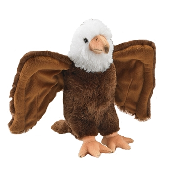 Plush Bald Eagle 12 Inch Conservation Critter by Wildlife Artists