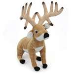 Plush Buck Deer 14 Inch Conservation Critter by Wildlife Artists