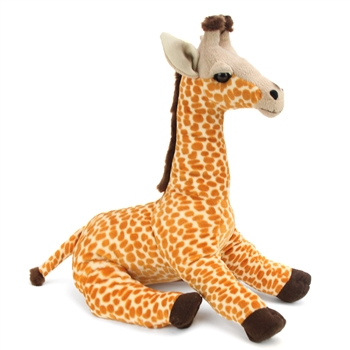 Large Stuffed Giraffe Conservation Critter by Wildlife Artists